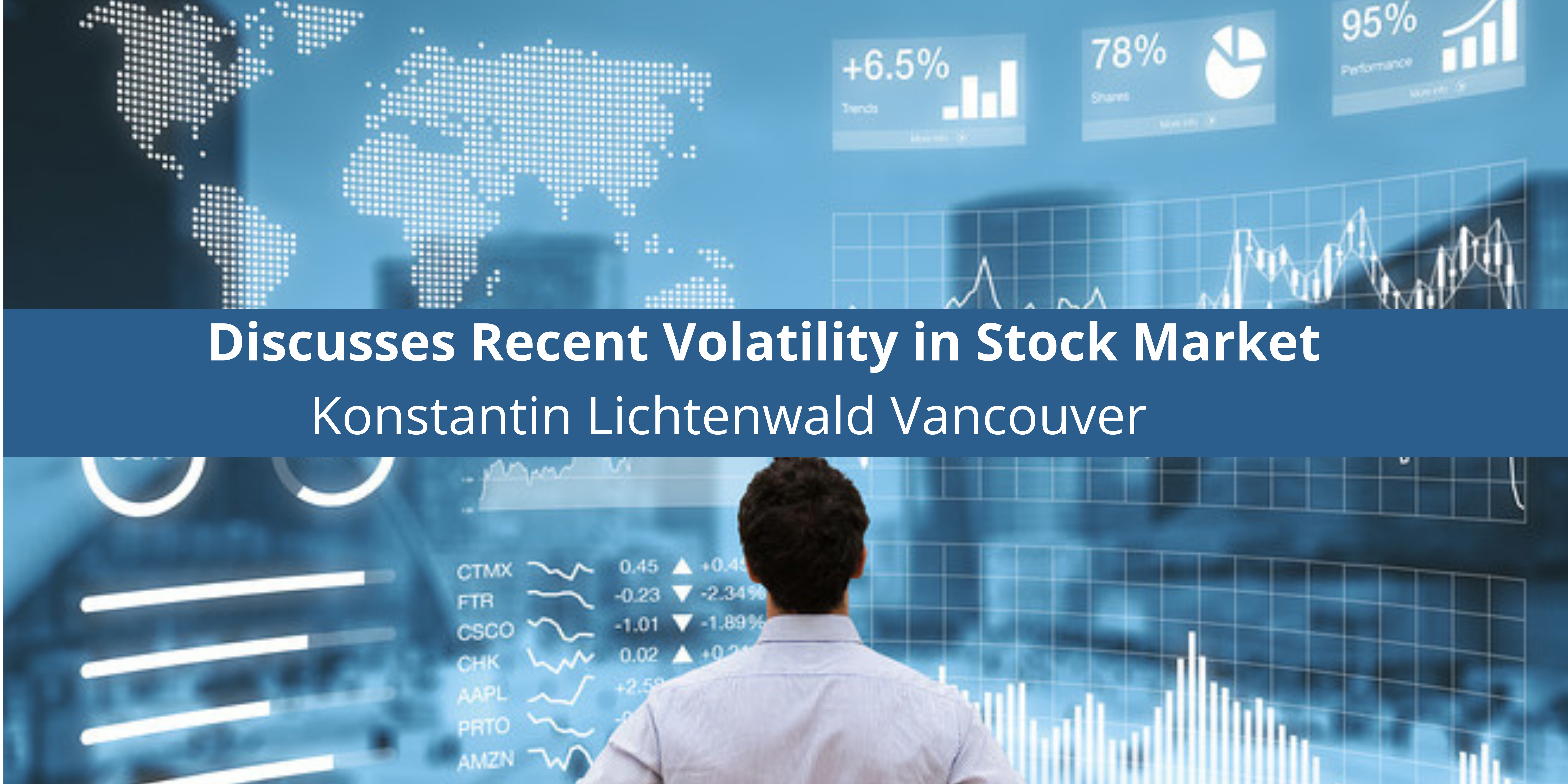 Discusses Recent Volatility in Stock Market